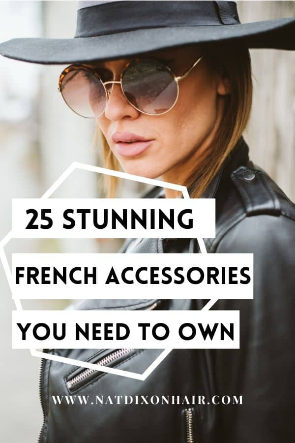 French Accessories Pin